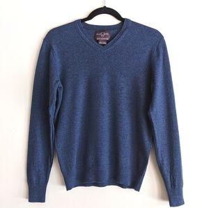 Black Brown 1826   men's 100% merino wool sweater